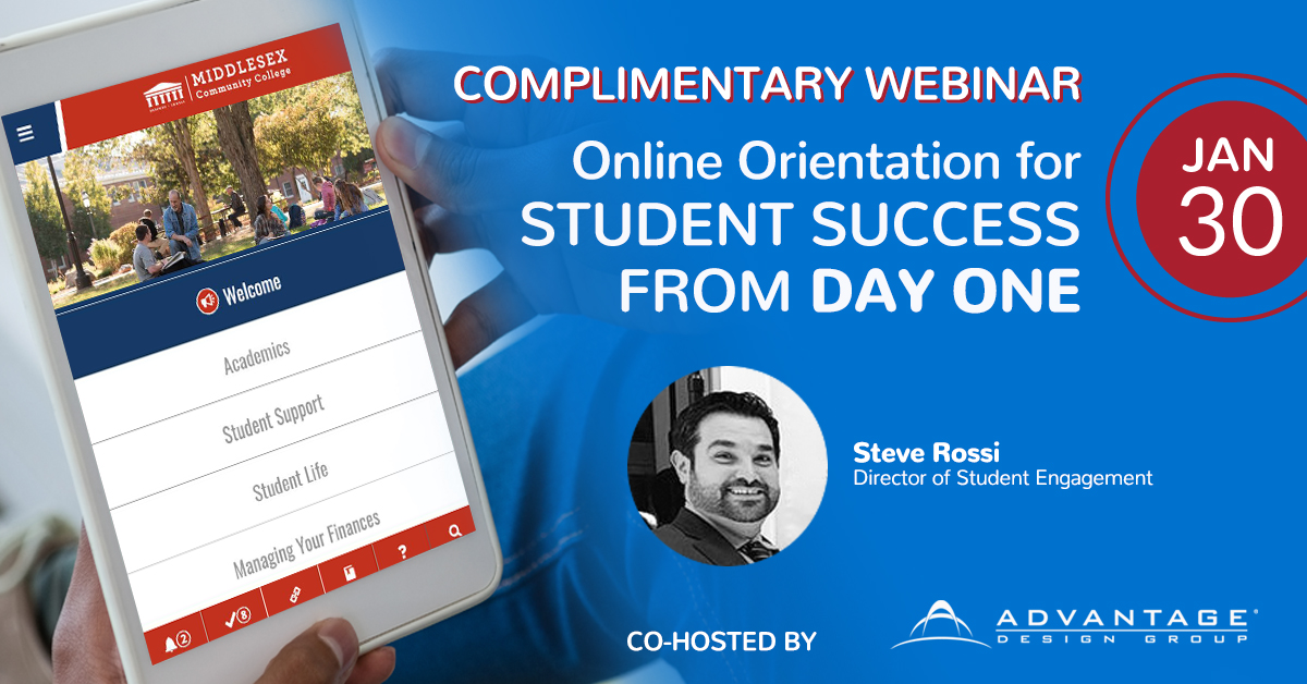 Online Orientation for Student Success from Day ONE